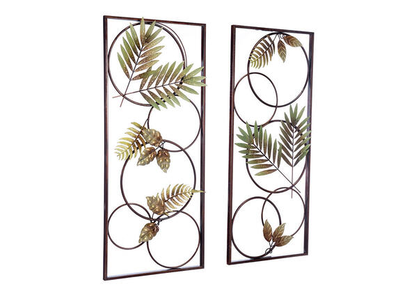 Recife 2 Pc. Wall Decor Brown