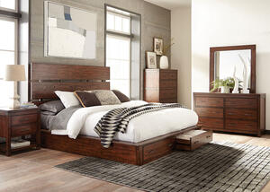 Artesia 7 Pc. Queen Storage Bedroom by Scott Living