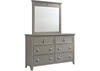 Malibu Gray 8 Pc. Queen Bedroom