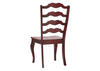 Berry Ladder Back Side Chair Berry