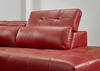 MARS 2 PC LAF SECTIONAL RED