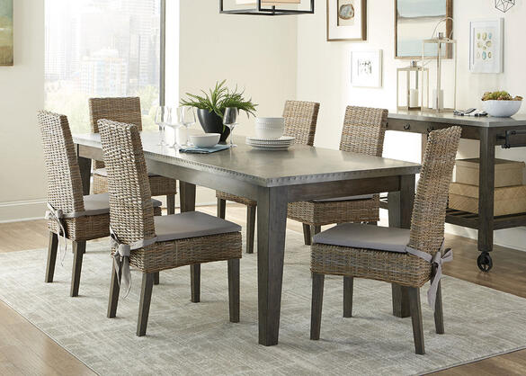 Davenport 7 Pc. Dining Room by Scott Living