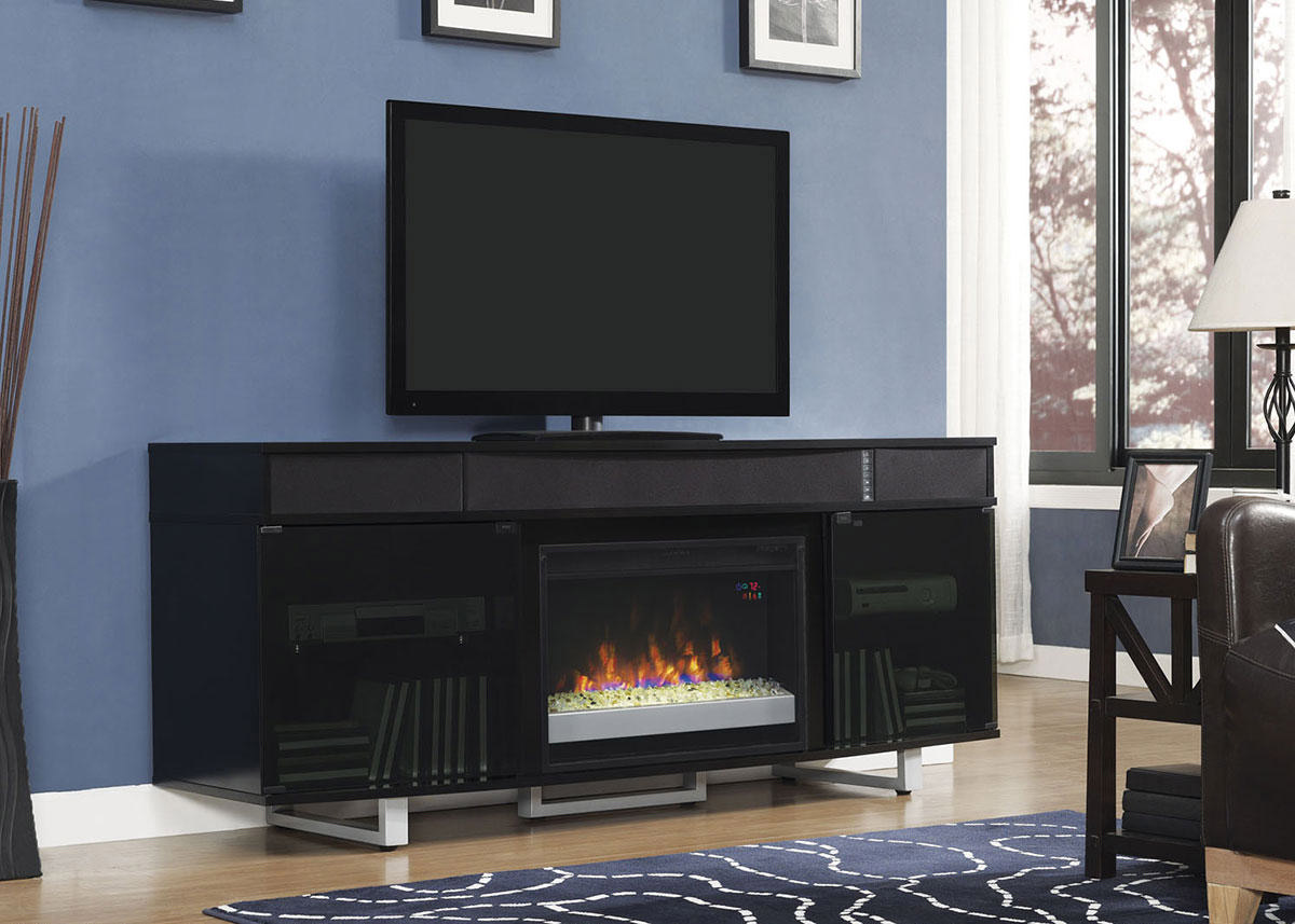 Gerard Complete Fireplace Black Black The Roomplace