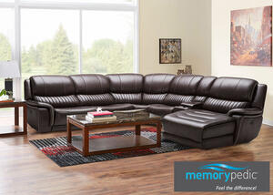 COUGAR 6 PC LAF SECTIONAL