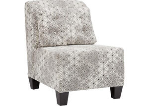 Clooney Armless Accent Chair