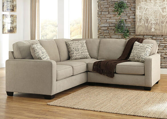 Arthur Quartz 2 Pc. Sectional (Reverse)