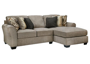 Savoy 2pc Laf Sectional Gray