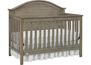 Haley Vintage Gray Convertible Crib by Fisher Price