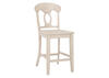 "White Napoleon 24"" Cntr Chair White"