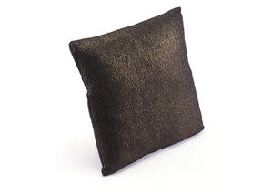Metallic Pillow Black