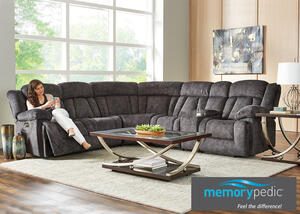 Escalade 6 Pc. Power Sectional