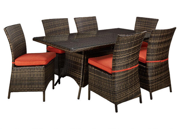 KEY LARGO 5PC DINETTE PLUS 2 FREE CHAIRS