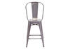 "Elio 40"" Gunmetal Counter Stool"
