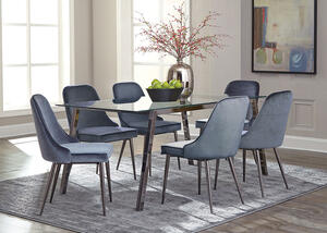 Inslee Blue 7 Pc. Dinette by Scott Living