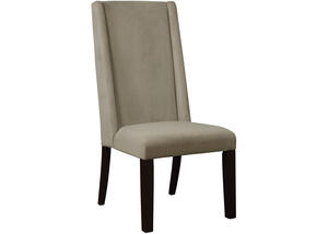 Demi Wing Back Granite Dining Chair by Scott Living