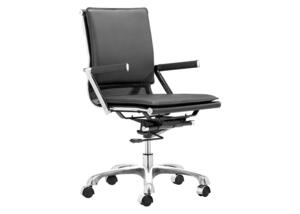 Lider Plus Black Office Chair