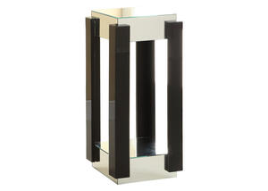 "Lotus 31"" Mirrored Accent Pedestal"