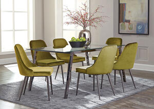 Inslee Green 7 Pc. Dinette by Scott Living