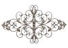 Ornate Scroll Wall Decor Champagne