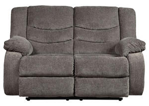 Talen Gray Reclining Loveseat