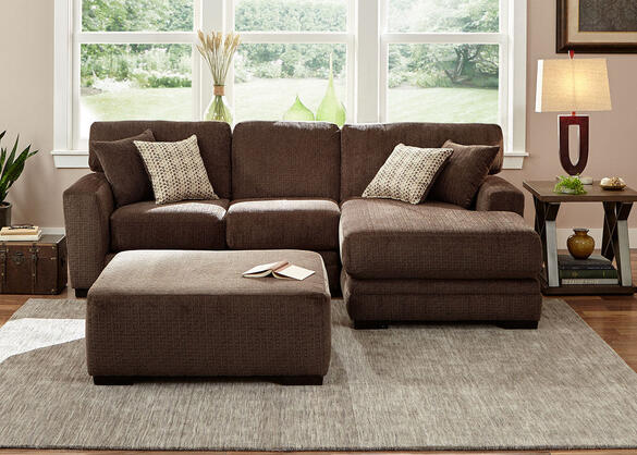Easton Chocolate 2 Pc. Sectional