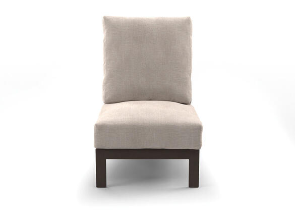 White Cliff Armless Chair