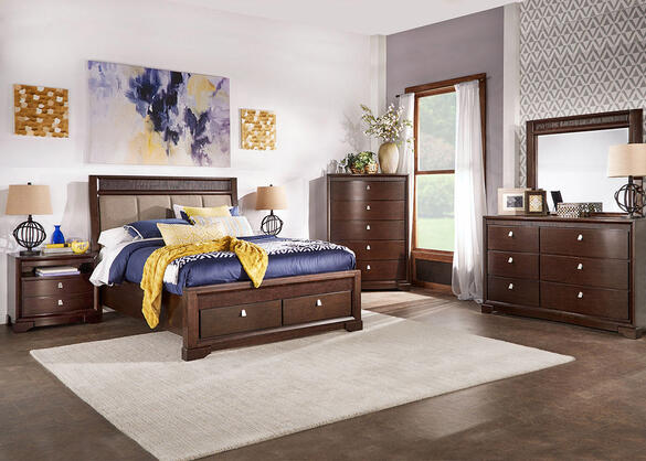 MELBOURNE 8PC QUEEN BEDROOM