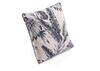 Black Leaves Pillow Black