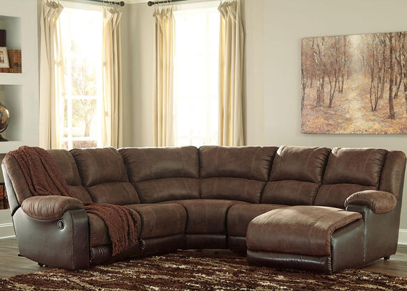 York Coffee 5 Pc. Sectional