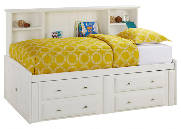 CATALINA TWIN ROOMSAVER BED WHITE WHITE