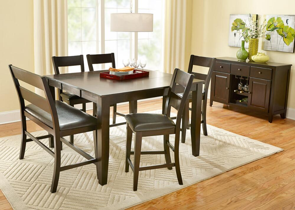 NICKI 5 PC CNTR HT DINETTE