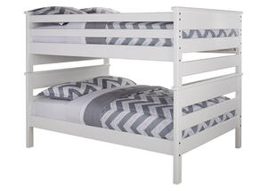 CATALINA F/F BUNK BED WHITE WHITE