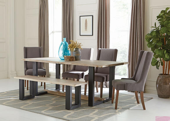 Levine Charcoal 6 Pc. Dining Room