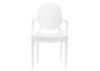 Anime 4 Pc. White Dining Chair Set
