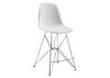 Zip Counter Chair White White