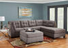Marlo 3 Pc Laf Slpr Sectional Charcoal The Roomplace
