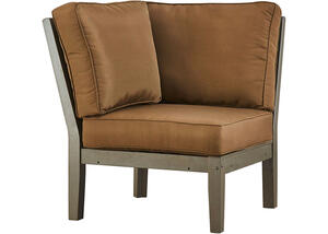 Newport Gray Corner Chair