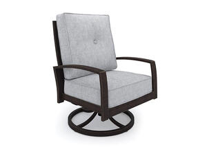 Turtle Bay Swivel Chair Gray