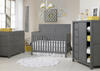 Castello Wire Brush Gray Convertible Crib by Ti Amo