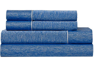 BEDGEAR Cobalt Ver-Tex Sheet Set