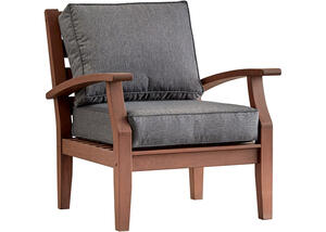 Newport Brown Lounge Chair