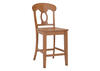"Napoleon 24"" Cntr Ht Chair Oak"