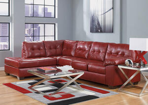 MAXIM 3 PC RAF SECT W/RECLINER RED