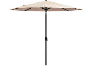 Beige Medium Auto Tilt Umbrella