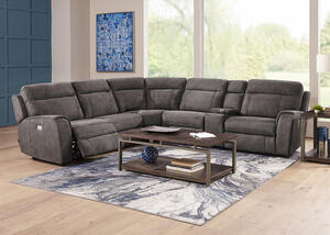 Mercury 6 Pc. Power Reclining Sectional