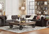 Barrington Charcoal Linen 7-Seat Sectional