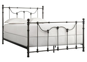 Nolan Black Queen Bed Black