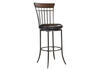 "Cameron 42"" Swivel Ladder Back Counter Stool"