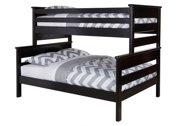 CATALINA T/F BLCK  BUNK BED W/STAIRCASE BLACK