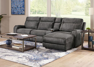 Mercury 4 Pc. Power Reclining Sectional
